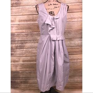 NWT Veronika Maine grey blue sky dress US 10